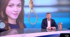 Ellenzékiek felakasztása volt a téma a belarusz állami tévé egyik műsorában, amiben egy magyar cég is hirdet