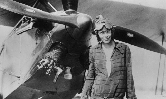 """Első nőként akarta megkerülni a Földet, de a Csendes-óceán """"elnyelte"""" Amelia Earhartot"""