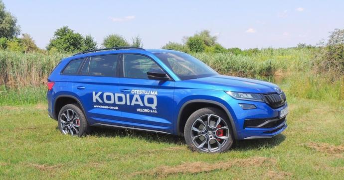 Škoda Kodiaq RS: 239 dízel-lóerő