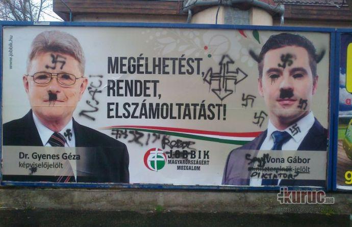 """A XV. kerületben is unatkoztak az """"antifaszisták"""""""