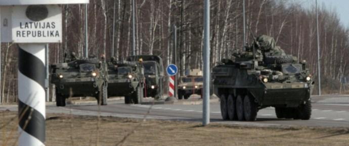 Amerikai katonák az orosz határnál