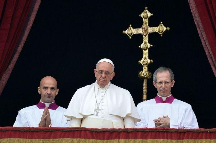 """Kikelt a világ """"cinkos csendje"""" ellen Ferenc pápa"""