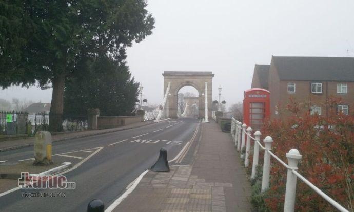 Az angliai  Marlow-ban áll a Láchíd előképe – olvasónk felvételei
