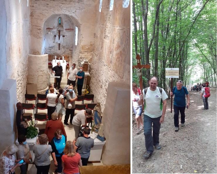 Zoboralji gyalogos zarándoklat a kistapolcsányi Kármelhegyi Szűzanyához