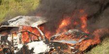 Kiégett egy elektromos autó Budapesten