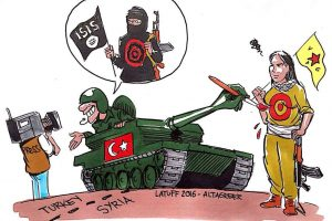 Hallották már a török külügyminiszter Szíriai Arab Hadsereget fenyegető szavait!?