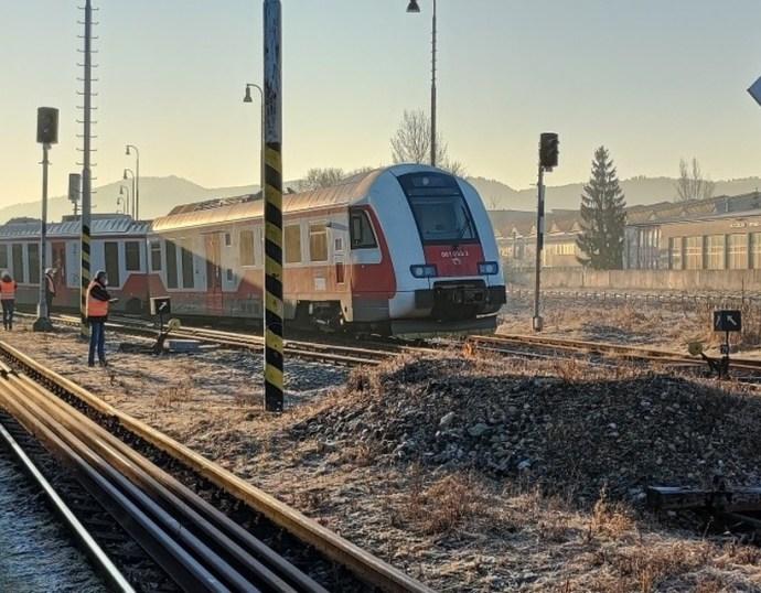 Kisiklott egy vonat Breznóbányán