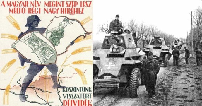 Amikor a Magyar Honvédség visszafoglalta Délvidéket