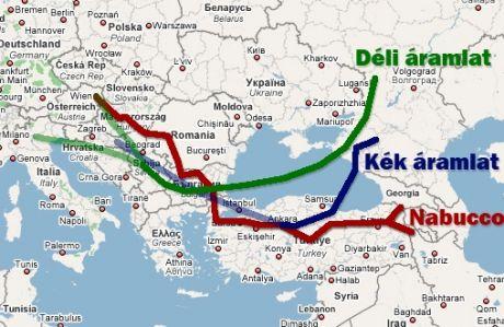 Putyin a Déli Áramlat útvonalának megváltoztatásával fenyeget