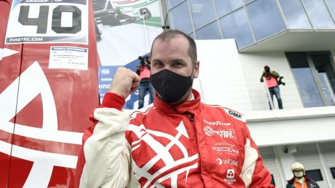 Kiss Norbert győzött a kamionosok utolsó futamán is a Hungaroringen
