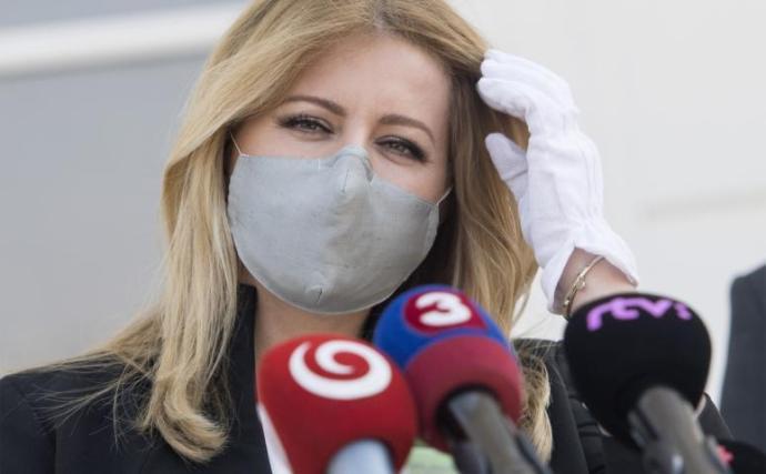 Čaputová: A Szputnyik felhasználása nem a bátorság megnyilvánulása