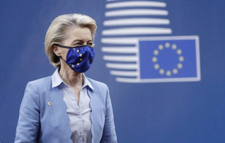Ursula von der Leyen, az Európai Bizottság elnöke hétfőn látogatást tesz Szlovákiában