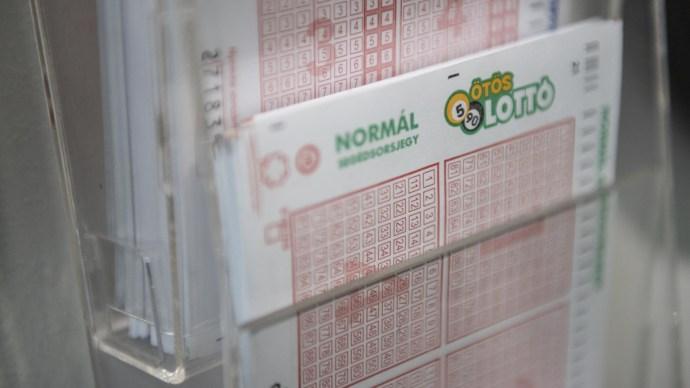 Ezek ötös lottó számai