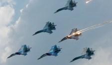 Vadászgépekkel szilárdítják meg Krím védelmét