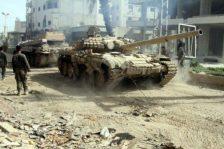 A szír hadsereg blokkolja az amerikai erők előrehaladását a Deir-ezzori olajmezőkhöz