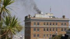 Füst gomolyog San Franciscóban az orosz főkonzulátus épületéből