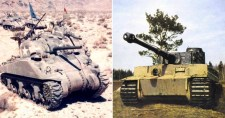 """A szövetségesek """"Tiger-fóbiája"""", avagy hogyan tartott rettegésben 50 ezer Shermant pár száz Tigris"""