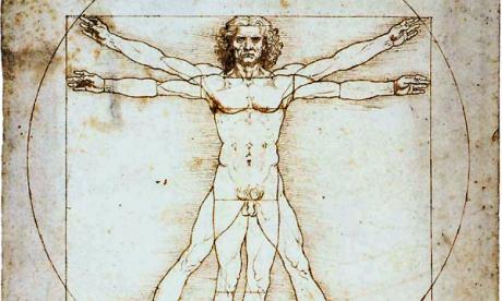 Beteg volt Da Vinci tökéletes embere