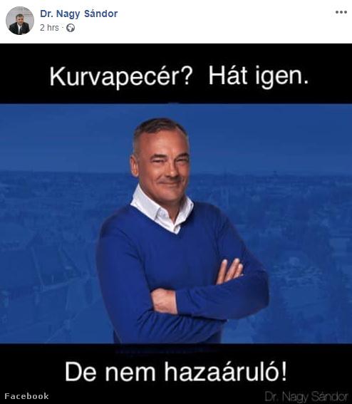 Fideszes képviselő: kurvapecér Borkai? Hát igen…