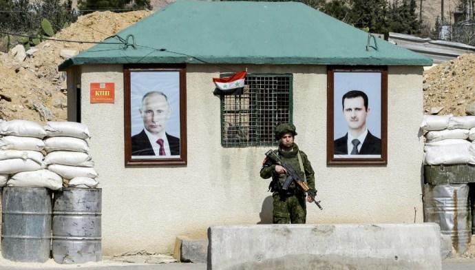 Moszkva megtorolna egy Damaszkusz elleni amerikai csapást