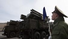 Oroszország Pancir légvédelmi rendszereket bontakoztatott szét az Arktiszban