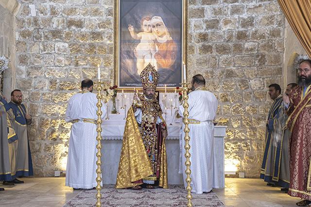 106 év után ünnepelhettek újra Isteni Liturgiát egy anatóliai örmény templomban