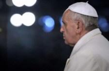 Ferenc pápa Twitter-üzenete november 14-én