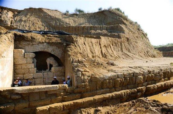 Fantasztikus videó készült az amphipoliszi sírról