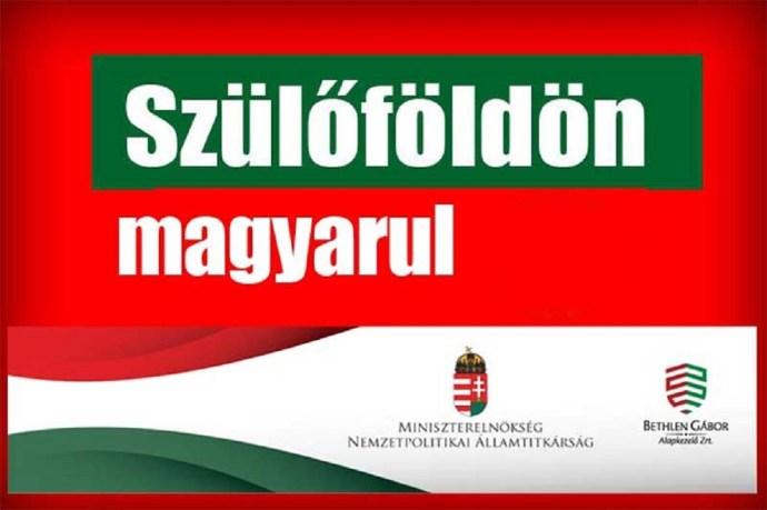Szülőföldön magyarul – január 19-én indul az utalás a pályázók számára