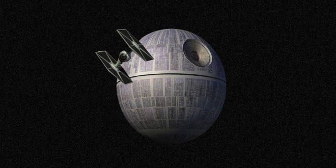 A Star Wars Halálcsillaga napelemekkel, ellátná az egész emberiség energiaigényét