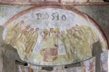 1600 éves, Krisztust ábrázoló festményt találtak egy római katakombában