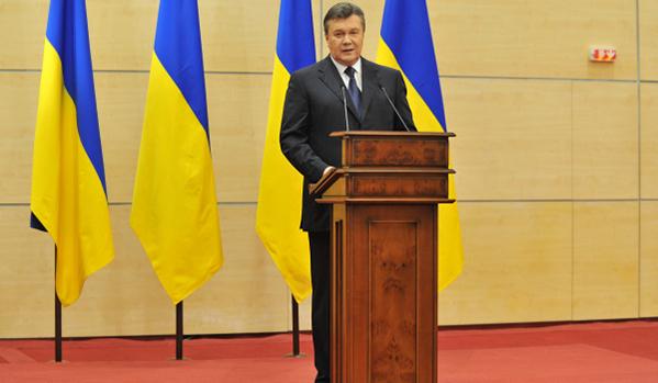 Janukovics kijelentette, hogy él és továbbra is ő a főparancsnok