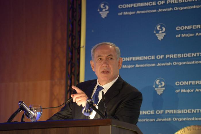 """Netanjáhu az amerikai zsidó vezetők előtt: """"A palesztinok nem tudják, hogy Izrael a Biblia országa?"""""""