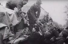 Archív feltételek szerint a magyarok örömmel fogadták a bevonuló német fegyvertársakat