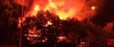 Épp ott pusztított a tűz, ahová a kormány építkezne