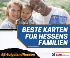 """Néger-német vegyes családot reklámoz a """"kereszténydemokrata"""" CDU Hessenben"""