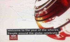 A ló éve helyett inkább a jelenlegi erkölcsi állapotokra hívta fel a figyelmet a BBC
