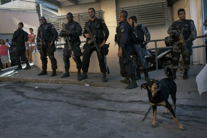 """""""A rendőrség öli a lakosokat"""""""