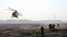 Még a levegőben kigyulladt és visszafordult a lezuhant ukrán repülő