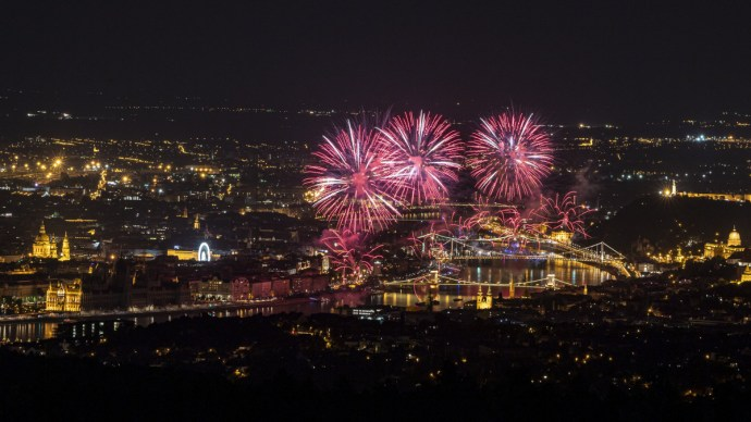 Íme a legszebb fotók az augusztus 20-i tűzijátékról