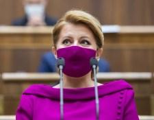 Čaputová: Rendkívüli és sok tekintetben erőt próbáló év van a hátam mögött