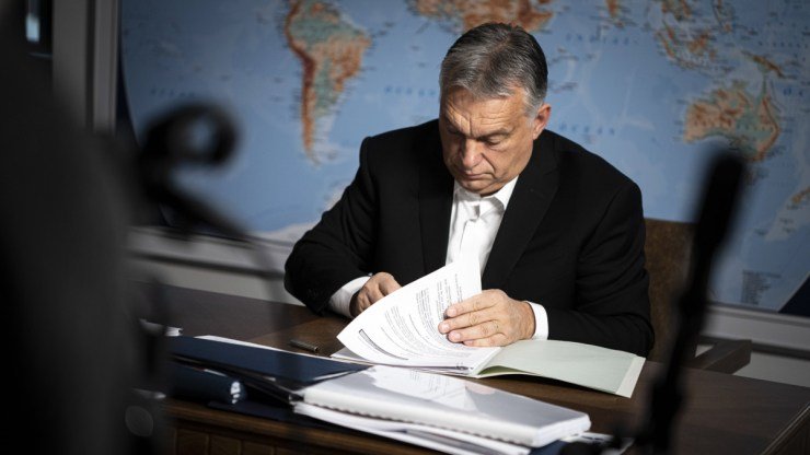 Oltásos levelet írt az érettségizőknek Orbán Viktor