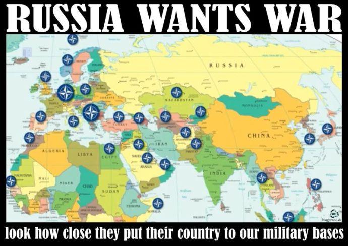 Oroszország háborút akar