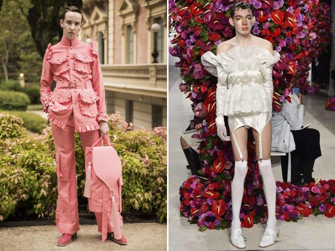Augiász istállójának kifutóján: férfiviseletben megvalósult tündérmesék, avagy a jövő genderképlékeny divatja