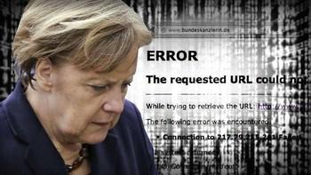 Ukrán válság: Megtámadták a német kormányzati portált