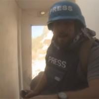 Videofelvétel: Orosz újságírókra lőttek Szíriában