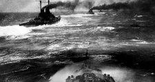 Meglepetésként érte a németeket a teljes brit flotta megjelenése Jütlandnál