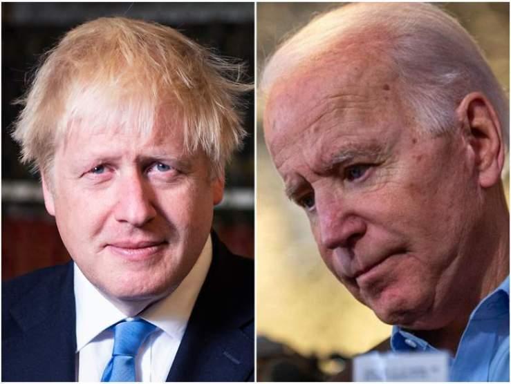 Ma egyeztet egymással Boris Johnson és Joe Biden