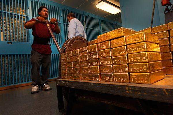 """Hollandia is visszakérné az Egyesült Államok """"ideiglenes megőrzéséből"""" aranytartalékának egy részét"""