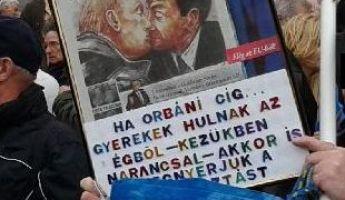 A baloldal folytatja: gyűlölkődő rasszizmus Orbán ellen